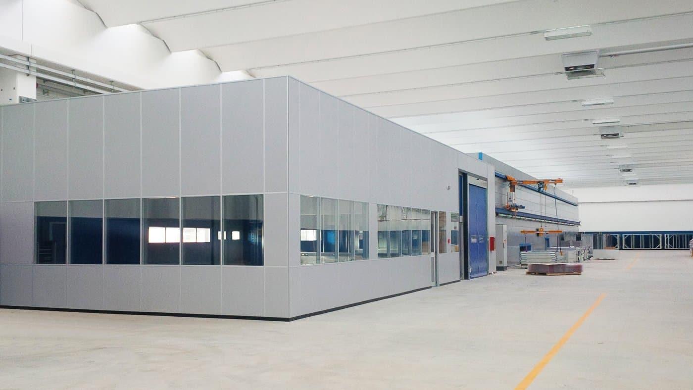 box ufficio capannone
