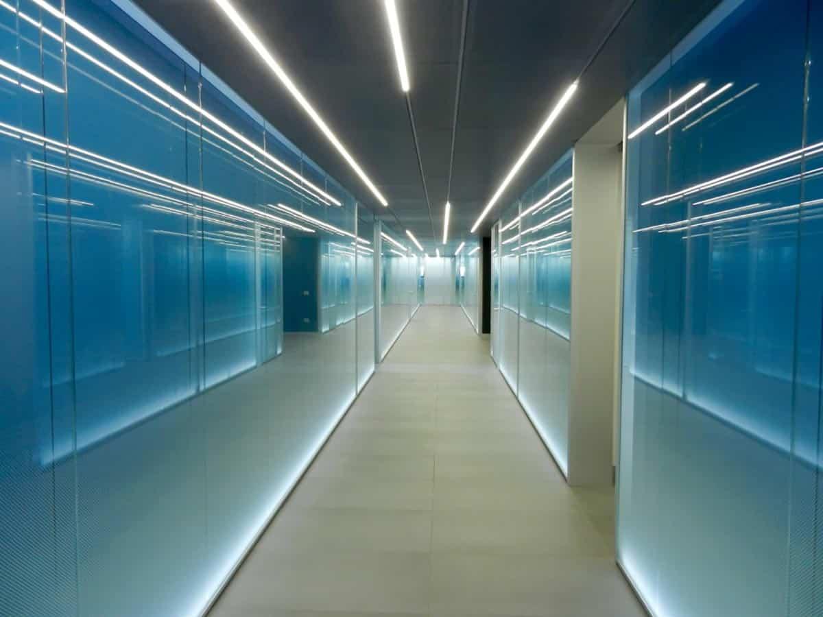 pareti vetrate a progetto