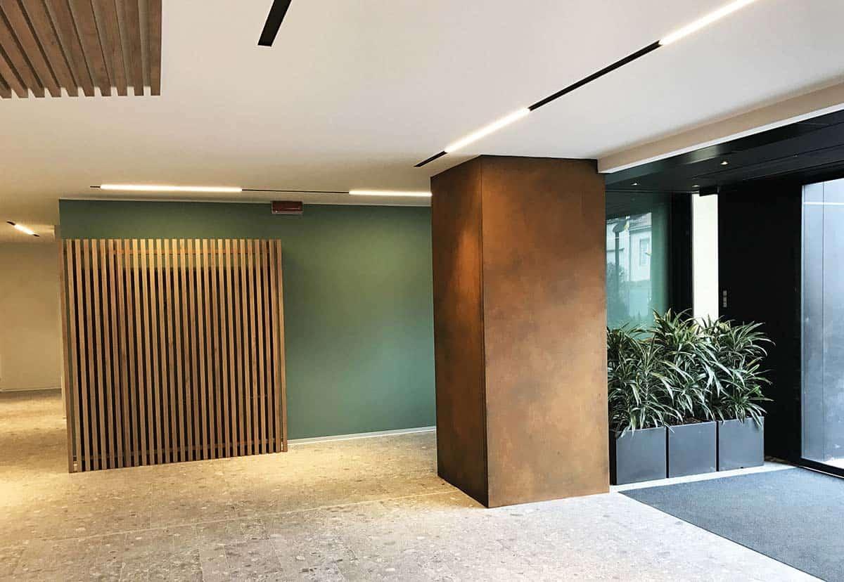 ristrutturazione reception uffici milano