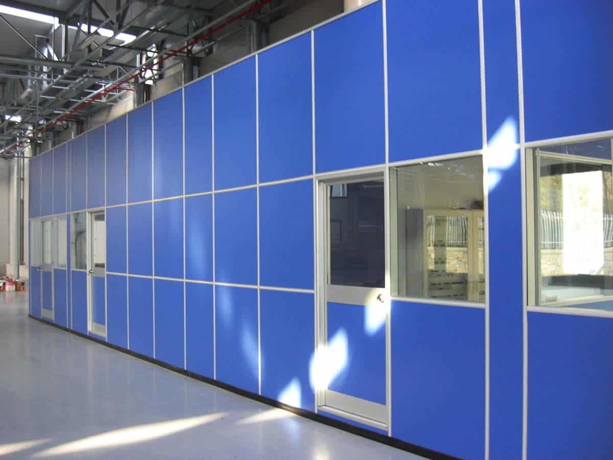 pareti mobili box ufficio progetto capannone