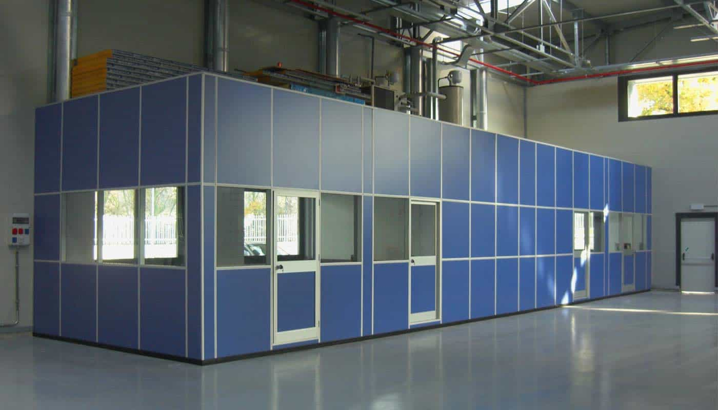 pareti mobili per capannoni