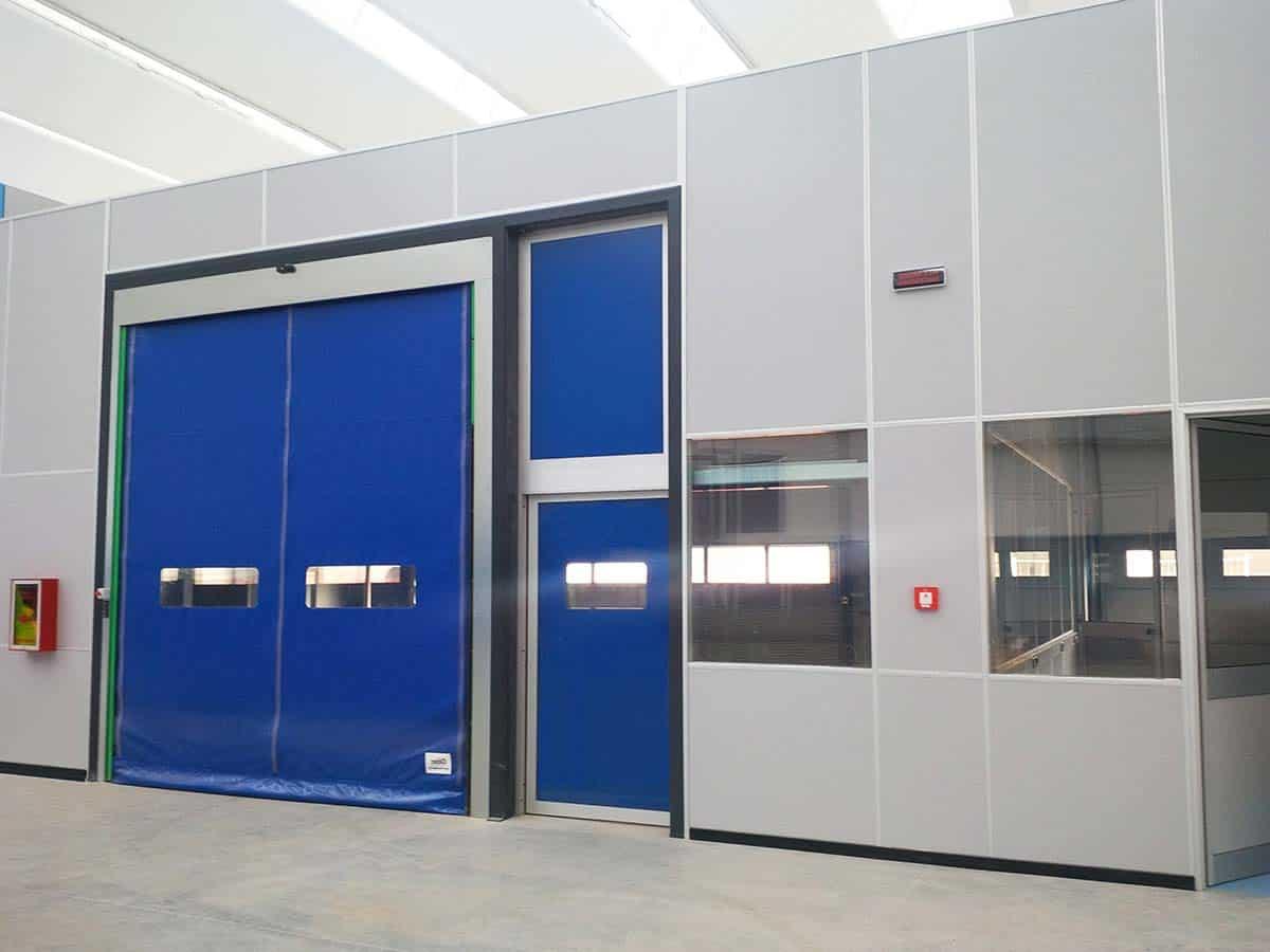 pareti per capannone uffici