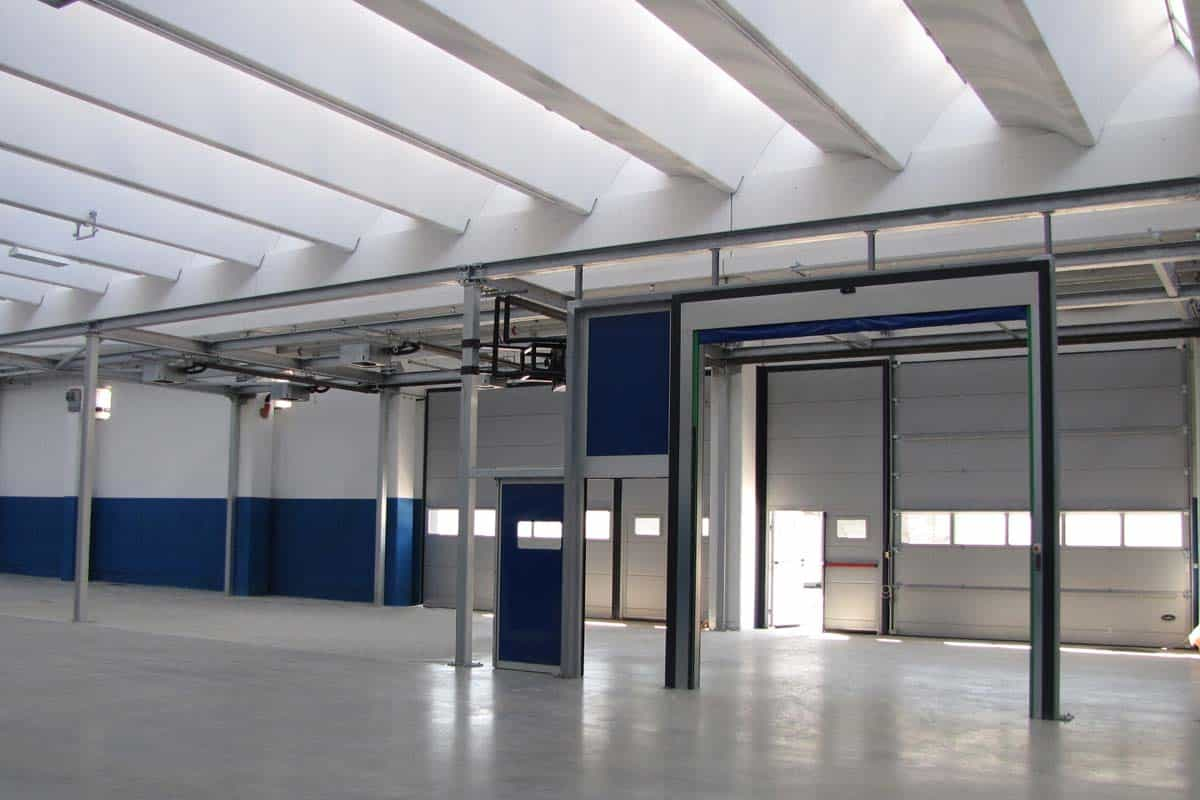 ristrutturazione capannone industriale