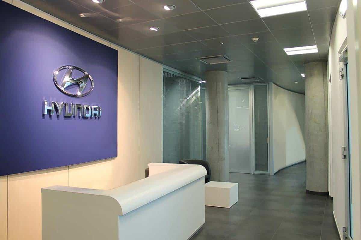 banchi reception per ufficio - progetto re-layout uffici