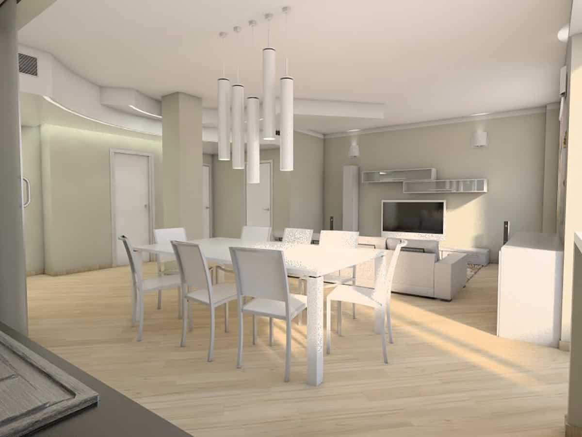 progettazione casa di pregio ristrutturazione appartamento
