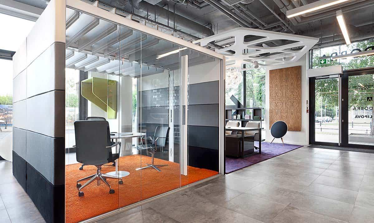 box uffici pareti mobili