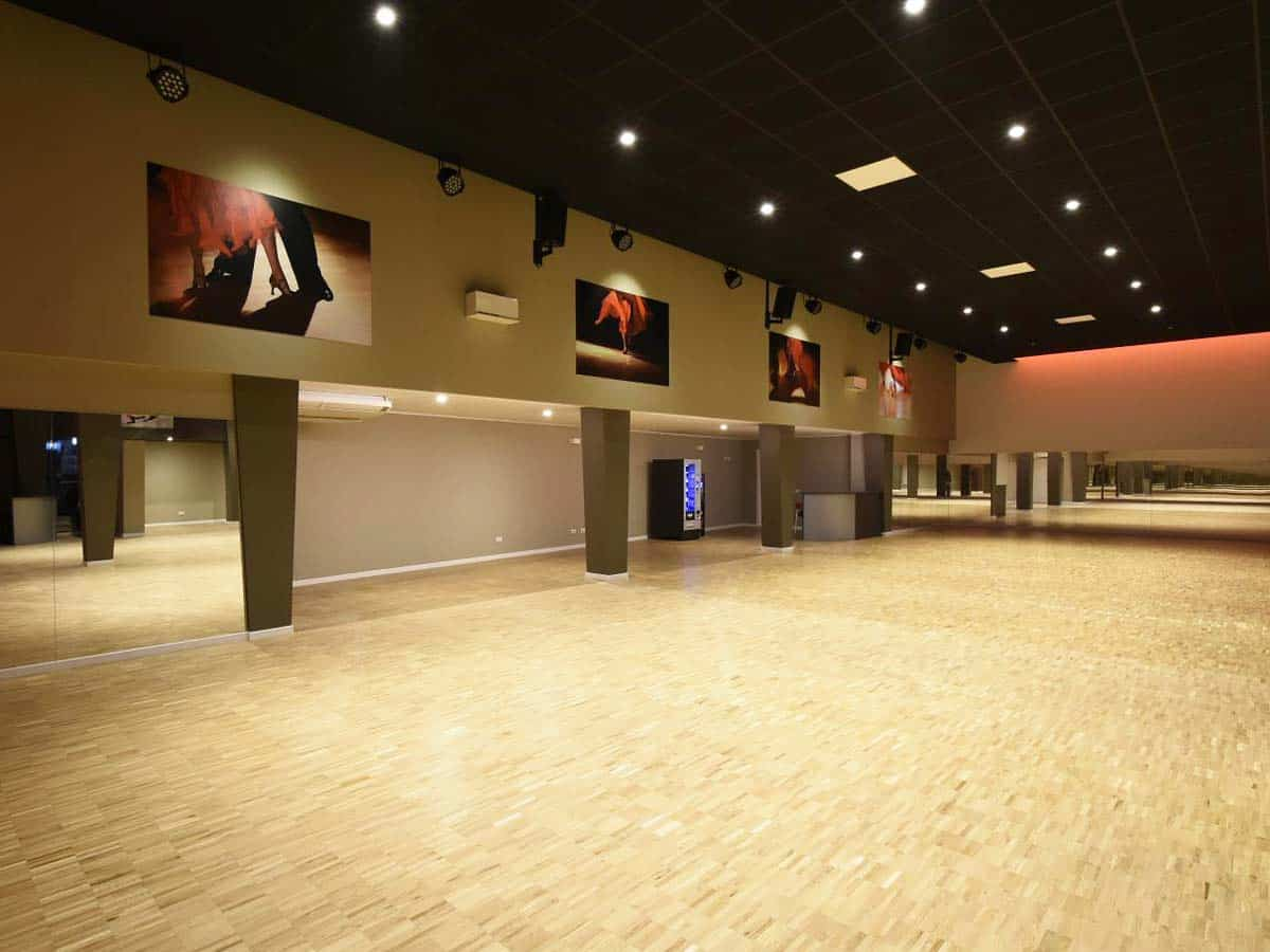Ristrutturazione sala da ballo