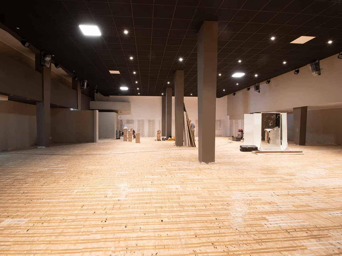 ristrutturazione sala ballo