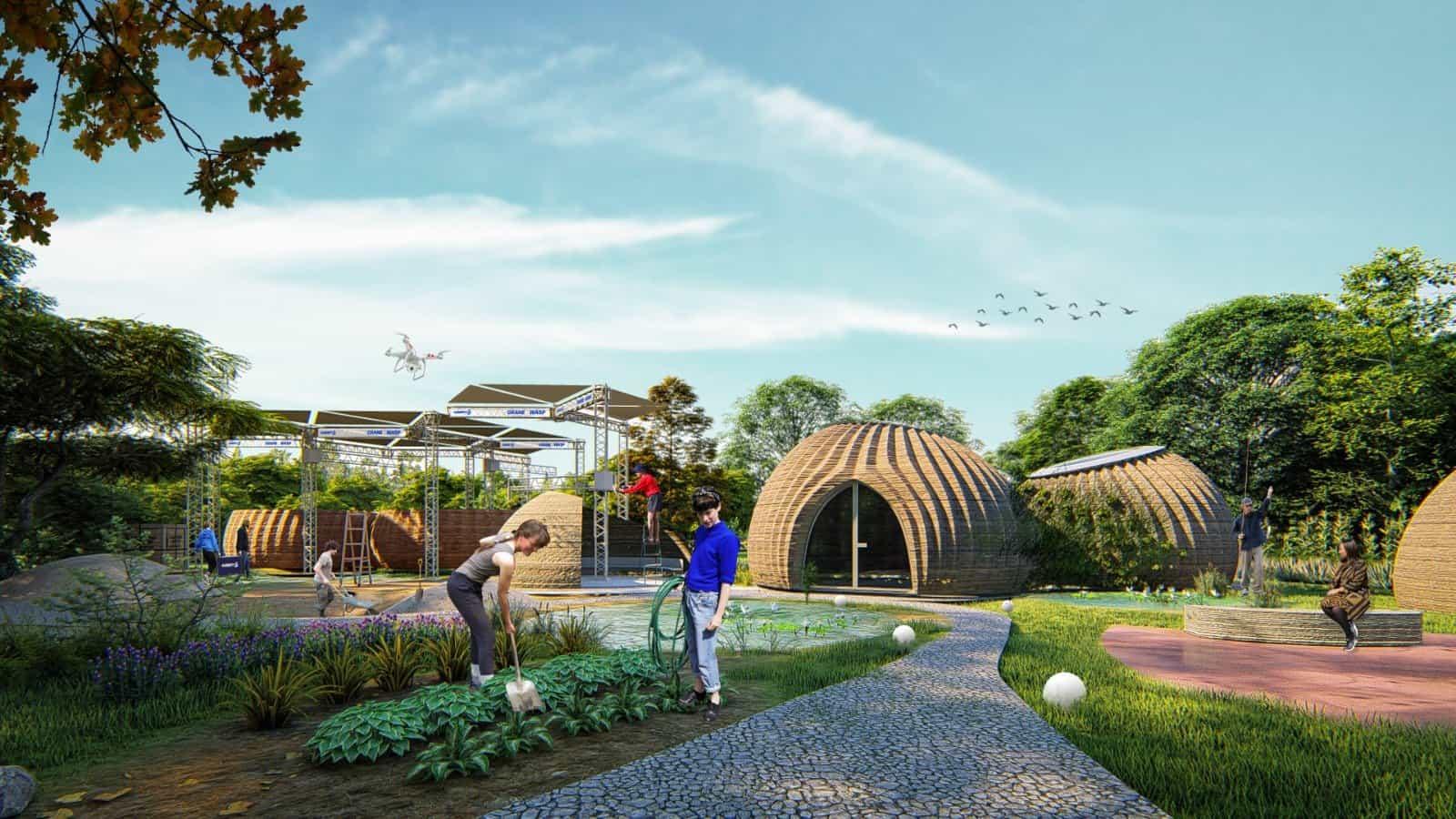 tecla casa sostenibile stampa 3d