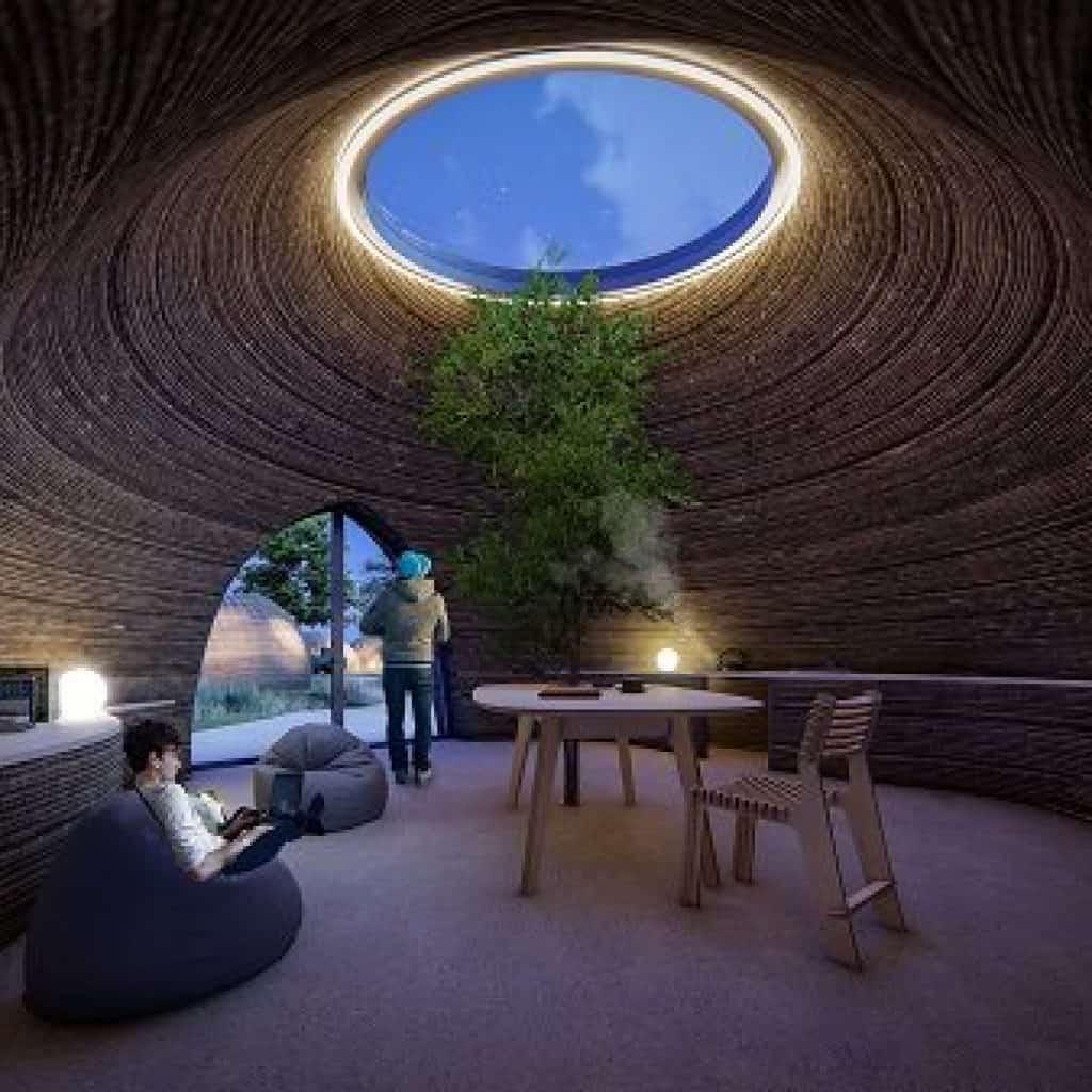 Tecla Casa ecosostenibile in stampa 3D