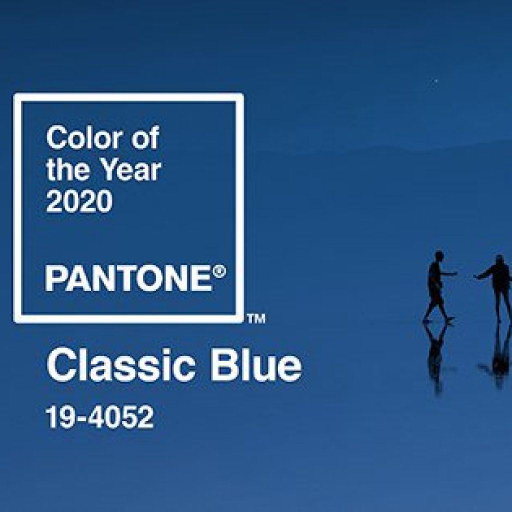 classic blue pantone colore dell'anno 2020