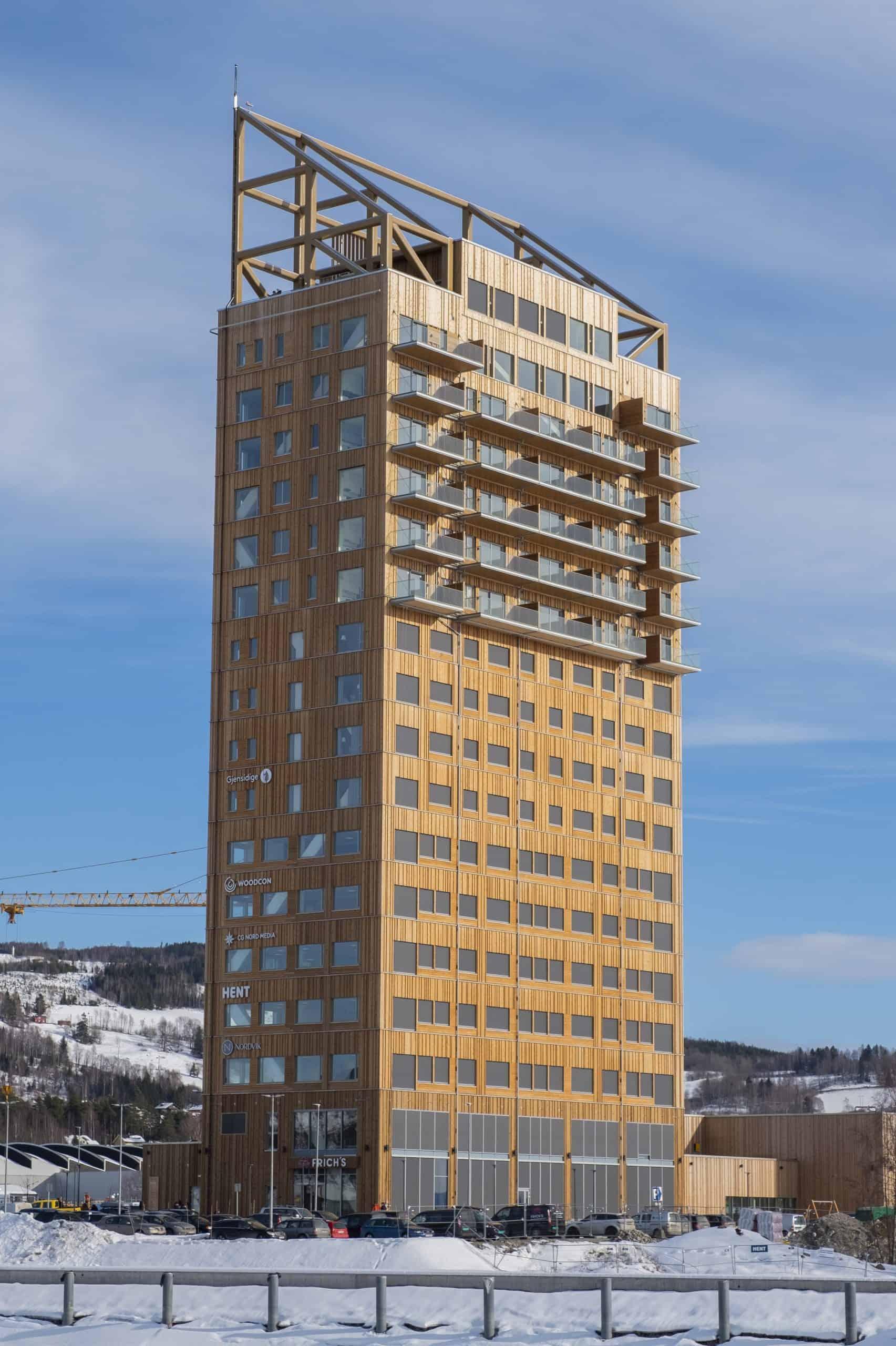 Grattacielo Norvegia Mjøstårnet